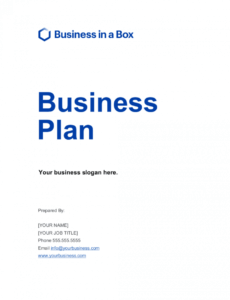 business plan template businessinabox™ ecommerce business plan template pdf