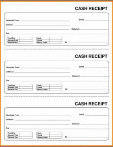 cash receipt template word ~ addictionary money order receipt template excel