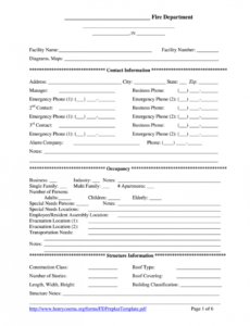 editable fire preplan form  fill out and sign printable pdf template  signnow fire department pre plan template sample