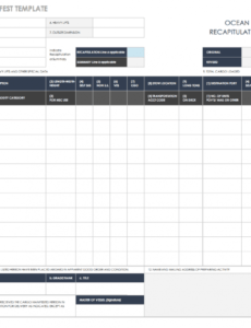 editable free shipping and packing templates  smartsheet truck delivery schedule template example