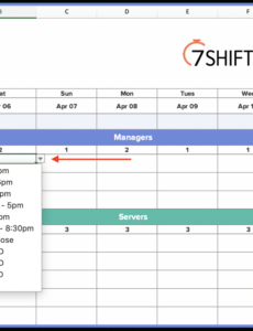 editable how to make a restaurant work schedule with free excel employee lunch break schedule template doc