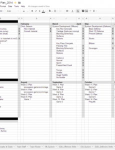 editable organizing season plans for youth football football camp schedule template