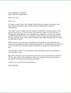 free 12 resignation letter from board of directors example board member resignation letter template