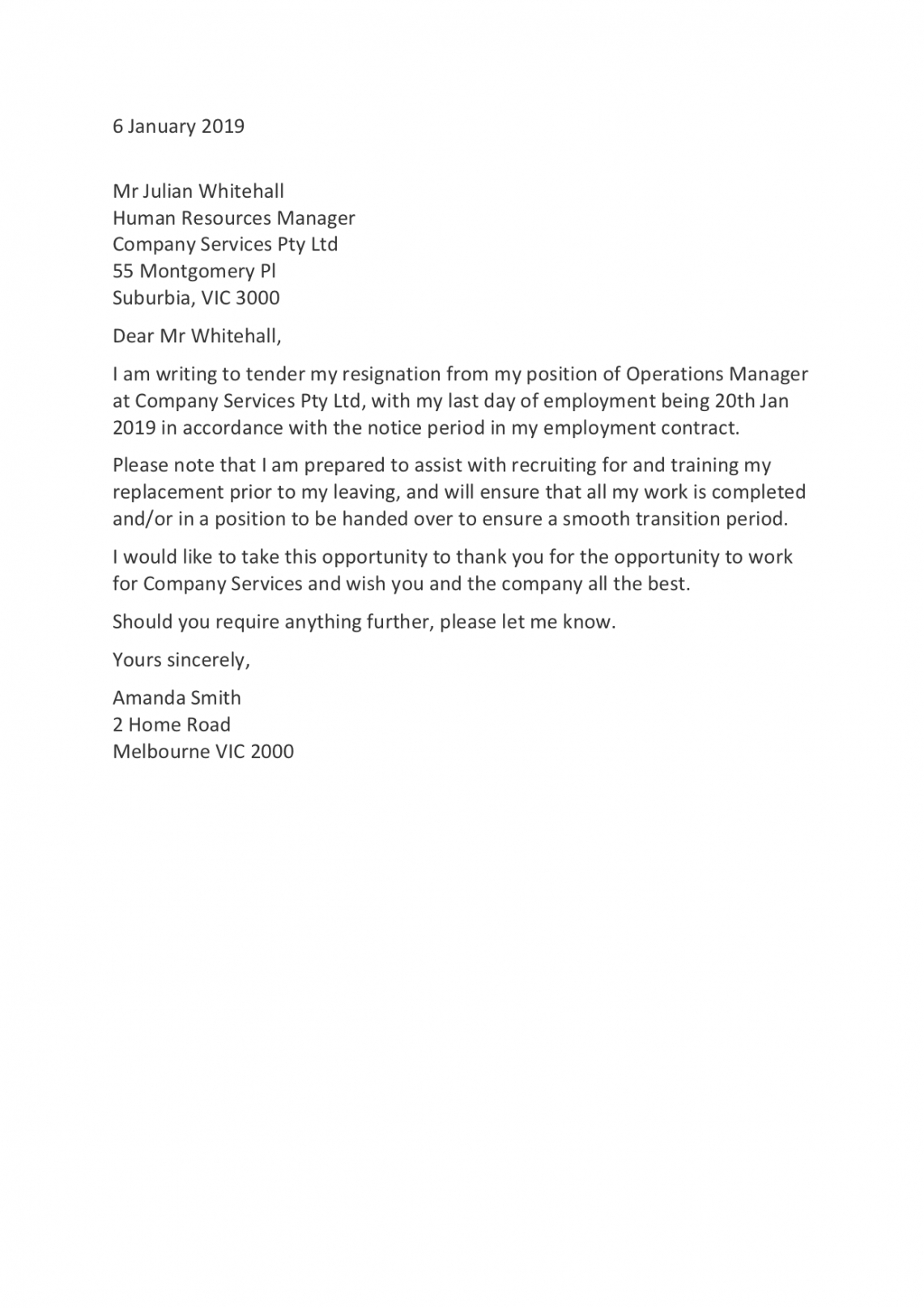 free resignation letter templates how to resign in 2020 employee resignation letter template