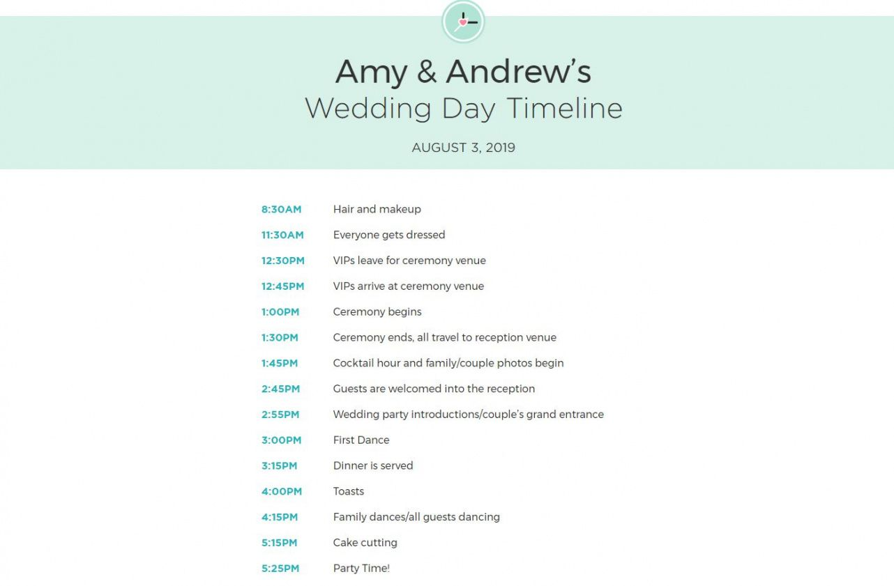 free wedding itinerary templates and timelines wedding weekend schedule template sample