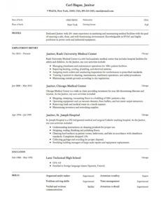 janitor resume & writing guide  12 examples  pdf  2020 janitorial schedule template example
