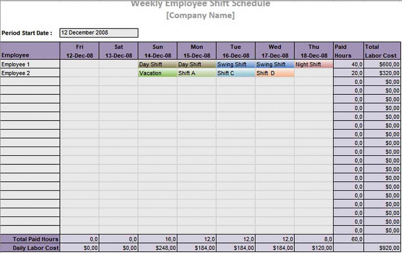 printable 10 hour shift schedule template  think moldova employee shift work schedule template excel