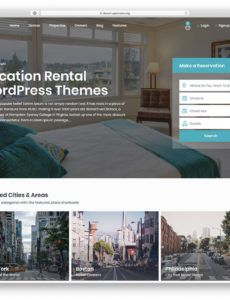 printable 10 vacation rental wordpress themes vacation rental business vacation rental business plan template
