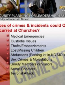sample church security plan template  my church security church security plan template word