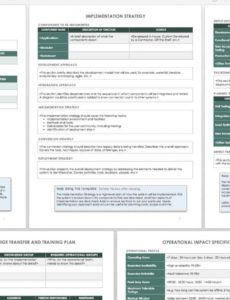 sample how to create an implementation plan  smartsheet software implementation plan template example