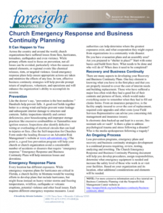 sample pdf church emergency response and business continuity church security plan template pdf