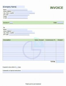 Costum Sales Compensation Plan Template Doc Example