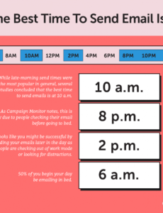 Free Email Marketing Schedule Template  Sample