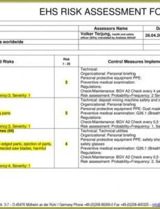 Nist Security Assessment Plan Template Word Sample