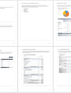 Best Business Plan Financial Projections Template Excel Sample