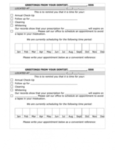 Best Dental Office Cleaning Schedule Template Pdf Sample