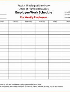 Best Employee Training Plan Template Excel