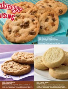 Cookie Dough Order Form Word Sample
