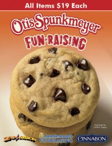 Costum Cookie Dough Order Form Word Example