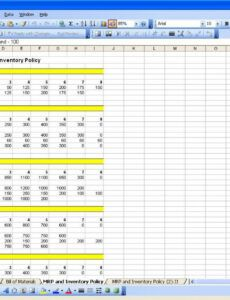 Editable Manufacturing Production Schedule Template Doc