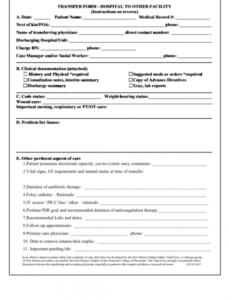 Editable Physical Therapy Order Form Pdf Example