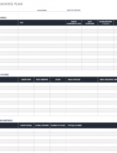 Personal Training Business Plan Template Pdf