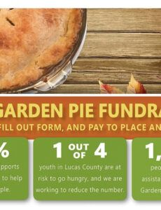 Pie Fundraiser Order Form Word Example