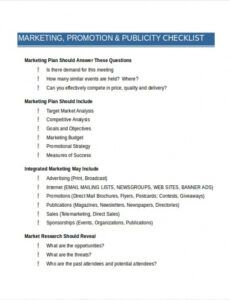 Accounting Firm Marketing Plan Template Excel Sample