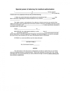 Power Of Attorney Resignation Letter Doc Example