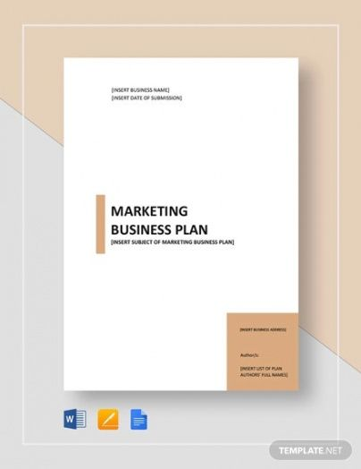 Professional Real Estate Marketing Plan Template Word Sample