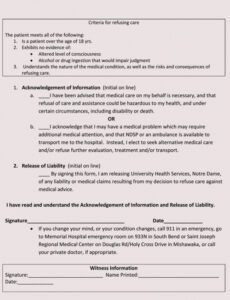 Professional Substance Abuse Discharge Plan Template Excel