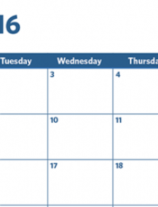 editable your 2016 email marketing planning calendar  constant email marketing schedule template