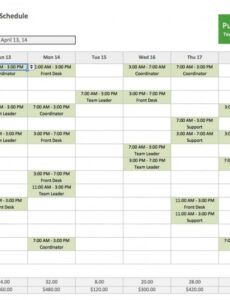 printable employee training plan template excel ~ addictionary staff training schedule template example