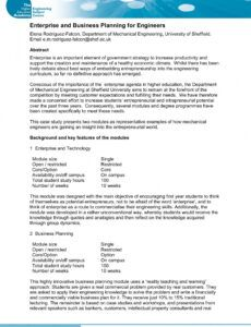 sample 8 engineering consulting business plan examples  pdf template for writing a business plan sample