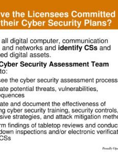 sample ppt  cyber security plans potential impacts for cyber security action plan template doc