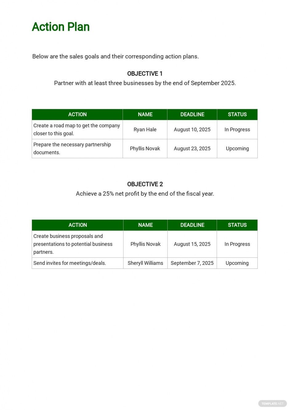 sample vegetable farming sales plan template free pdf  google agricultural business plan template example
